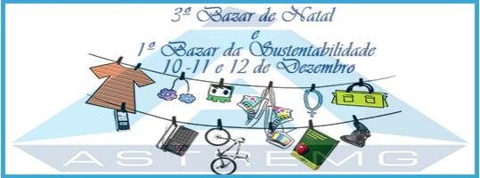 3º Bazar de Natal e 1º Bazar da Sustentabilidade