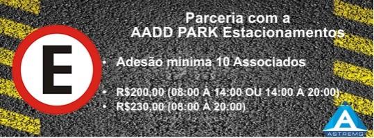 Parceria AADD PARK Estacionamentos