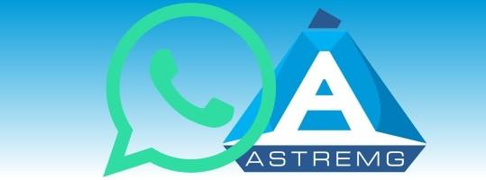 Novo canal de comunicação da Astremg – whatsApp