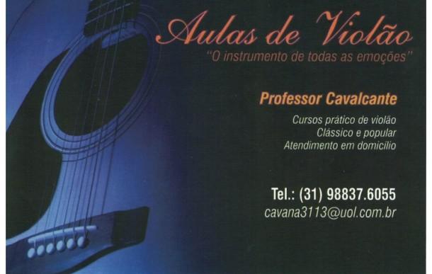 Aulas de Violão – Professor Cavalcante