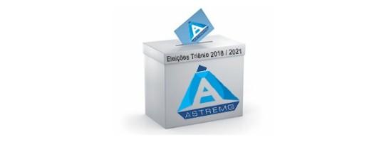 Inscrições aberta para eleição da Diretoria para o Triênio 2018/2021 para os Cargos de Coordenadoria, Conselho Deliberativo e Conselho Fiscal.