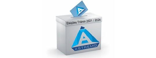 Inscrições aberta para eleição da Diretoria para o Triênio 2021/2024 para os Cargos de Coordenadoria, Conselho Deliberativo e Conselho Fiscal.